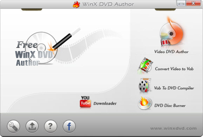 Video DVD Maker Grátis - WinX DVD Autor